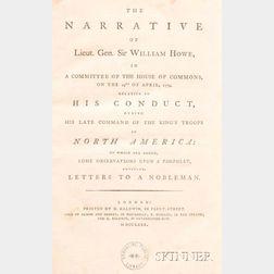 Howe, William, Sir (1729-1814)