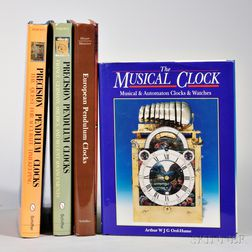Four Titles on European Precision and Musical Clocks