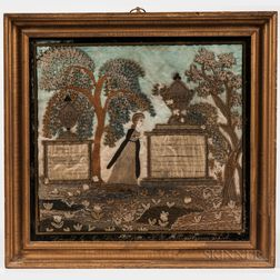 Needlework Memorial for Harriet Davenport
