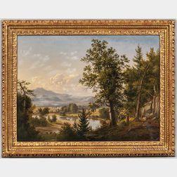 American School, Late 19th Century      White Mountain Landscape