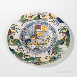 Dutch Delft Earthenware Charger