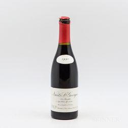 Leroy Nuits St. Georges Les Boudots 1990, 1 bottle