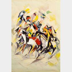 William Meyerowitz (Russian/American, 1898-1981)    Kaleidoscope