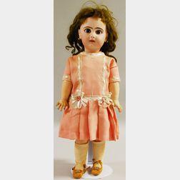 French Bisque Head Tete Jumeau Doll