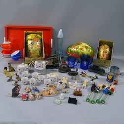 Group of Children's Toys and Doll Items