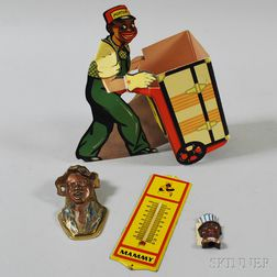 Small Group of Black Americana Collectibles