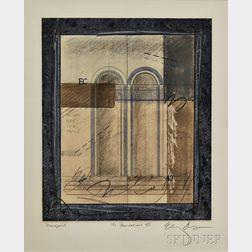 Elizabeth DaCosta Ahern (American, 20th/21st Century)    The Foundation XIII