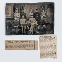 Tintype Photo of Eleven New York Soldiers