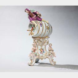 Meissen Porcelain Wine Dispenser