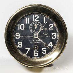Chelsea No. 2 Deck Clock