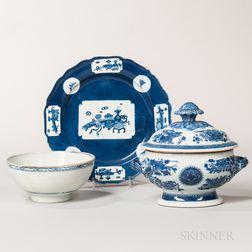Three Chinese Export Items