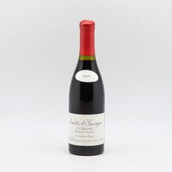 Leroy Nuits St. Georges Les Vignerondes 1990, 1 bottle