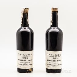 Taylor Vintage Port 1963, 2 bottles