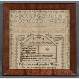 Needlework Family Record