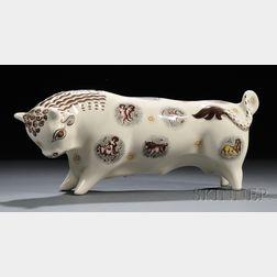 Wedgwood Queen's Ware Taurus the Bull