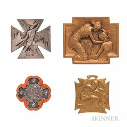 Three Art Nouveau Items, R. Lalique