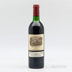 Chateau Lafite Rothschild 1983, 1 bottle