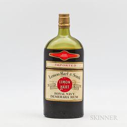 Lemon Hart Royal Navy Demerara Rum, 1 40oz bottle