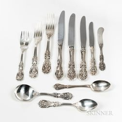 Reed & Barton Francis I Pattern Sterling Silver Partial Flatware Service