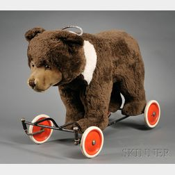 Steiff Ride-On Bear Cub