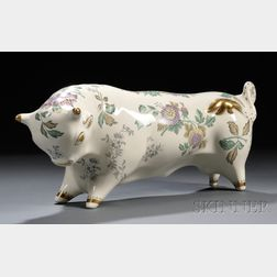Wedgwood Queen's Ware Taurus the Bull