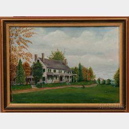 American School, 19th Century    William Sturges House, Woburn