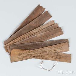 Palm Leaf Manuscript.