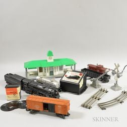 Lionel Train Set with Accessories and Track