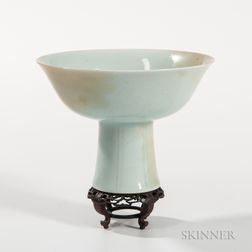 Qingbai-style White Stem Cup