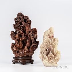 Two Soapstone Carvings