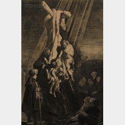 Rembrandt van Rijn (Dutch, 1606-1669)      The Descent from the Cross