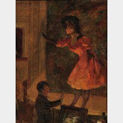 Louis Kronberg (American, 1872-1965)      The Soubrette