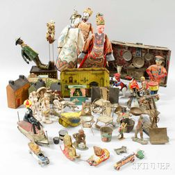 Group of Antique Toys