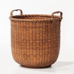Tall Nantucket Basket