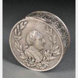 Hanauer Silberwaren-Manufaktur/Georg Roth & Co. .800 Silver Box
