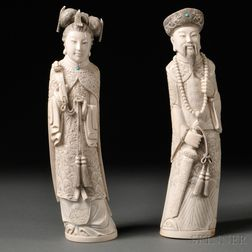 Ivory Emperor and Empress