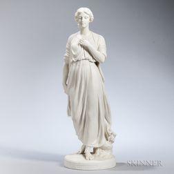 Copeland Parian Figure of Nora Creina