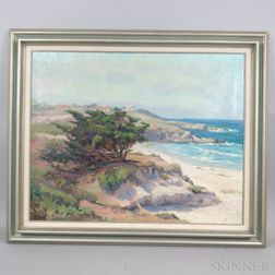 Ada Belle Champlin (American, 1875-1950)      Carmel, California