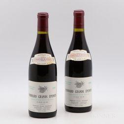 Michel Gaunoux Pommard Les Grands Epenots 1990, 2 bottles