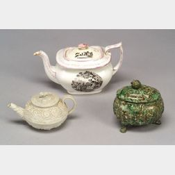 Three Pottery and Porcelain Items