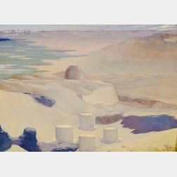 Eric Pape (American, 1870-1938)      Valley of the Sphinx