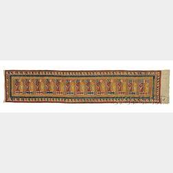 "Indonesian ""Ancestor Ship"" Textile"