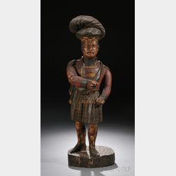 Scottish Highlander Countertop Tobacconist Figure