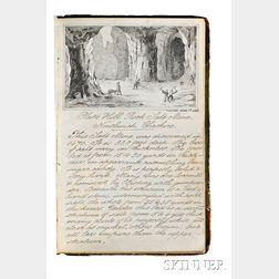 Manuscript Journal of William R. Skinner, British, Illustrated, c. 1864.