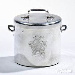 French .950 Silver Covered Jar