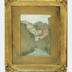 Henry P. Spaulding (American, 1868-1938)    Village Scene