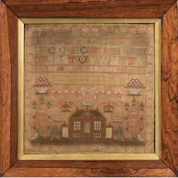 "Needlework Sampler ""Margaret Muir Lonehead,"""