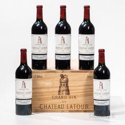 Chateau Latour 2001, 12 bottles (owc)