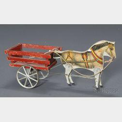Gibbs Horse Drawn Two-Wheel Cart