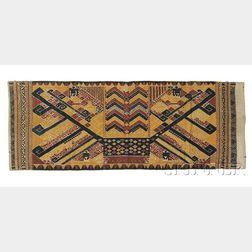 "Indonesian Cotton ""Tabitan"" Weaving"
